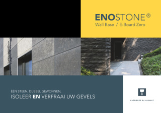 Brochure 'EnoStone Wall systems' NL