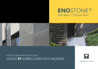 Brochure 'EnoStone Wall Systems' FR