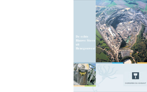 Carrières du Hainaut_brochure productie NL