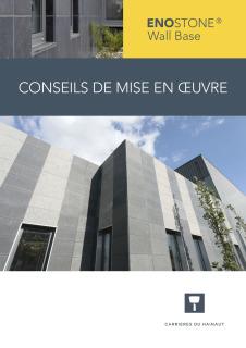 EnoStone Wall Base - Mise en Oeuvre EnoStone E-Board Zero - mise en oeuvre