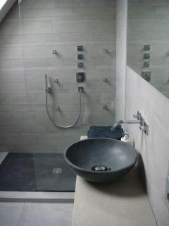 Adouci bleu foncé - Donkerblauw gezoet - Groot natuursteen