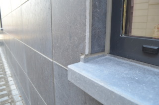 EnoStone Wall Base - Ecuré - Geschuurd - ABETEC architecten & ingenieurs